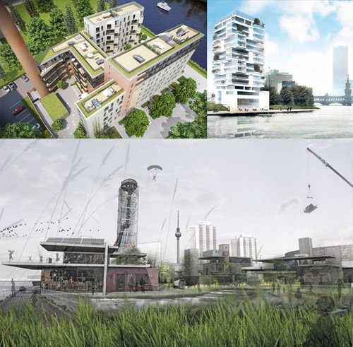 Mediaspree, Megaspree, East Side Gallery, Kater Holzig, Möhrchenpark, Living Bauhaus
